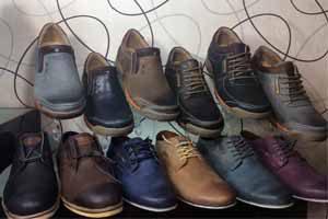 پخش کارتنی انواع کفش مردانه