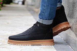 تولیدی کفش نیم بوت مردانه شیک در تهران
