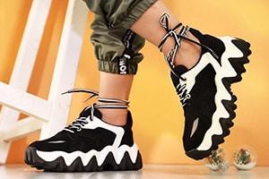 تولیدی کفش کتانی دخترانه